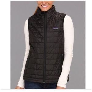 Patagonia Black Nano Puff Vest EUC
